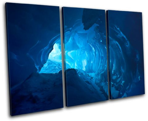 Ice Cave Blue Landscapes - 13-0231(00B)-TR32-LO